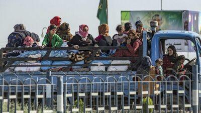 No Turcijas ofensīvas bēguši 190 000 iedzīvotāju