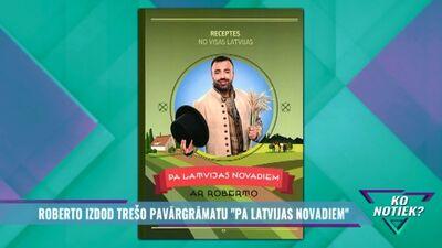 """Roberto izdod trešo pavārgrāmatu """"Pa Latvijas novadiem"""""""