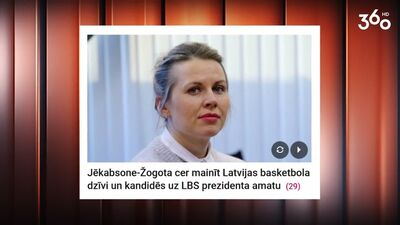 Anete Jēkabsone Žogota cer mainīt Latvijas basketbola dzīvi!