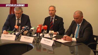 Speciālizlaidums: Preses konference par ES tiesas spriedumu Rimšēviča lietā