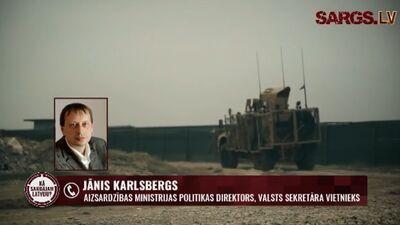 """Latvija ne tikai patērē drošību, bet nodrošina to arī citos """"karstajos"""" punktos"""