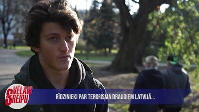 Iedzīvotāji par terorisma draudiem Latvijā
