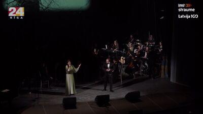 """Koncertuzvedums """"Saules mūžu Latvijai""""  2. daļa"""