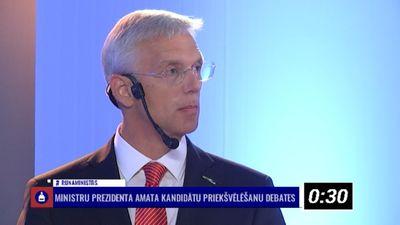 """Noskaties, Kr. Kariņš (""""Jaunā Vienotība"""") plāno paveikt nākamās valdības laikā?"""