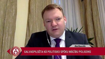 """Smiltēns: Esam izveidojuši """"Rīgas metropoli"""""""