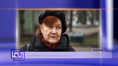 Sabiedrība par Saeimas atlaišanu