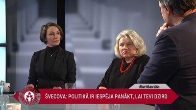 """Daukšte: """"Latvijas politikā vienmēr bijušas spēcīgas sievietes - maratonskrējējas"""""""