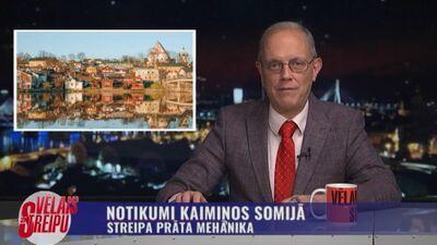Streipa prāta mehānika: Notikumi kaimiņos Somijā