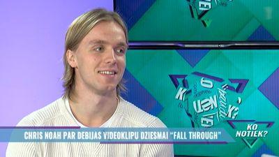 """Chris Noah par debijas videoklipu dziesmai """"Fall Through"""""""