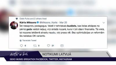 Tvītotāji sarosās: Saeima lemj par 2019. gada budžetu