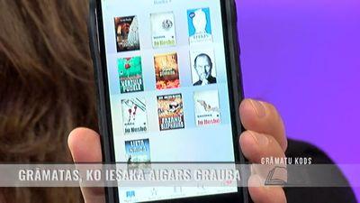 Grāmatas, ko iesaka izlasīt Aigars Grauba