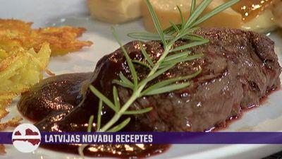 Uzzini, kā pareizi pagatavot brieža gaļas steiku!