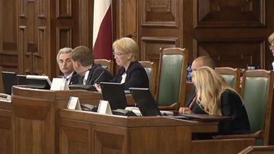 Linkaits par domstarpībām jaunās Saeimas prezidija izveidē