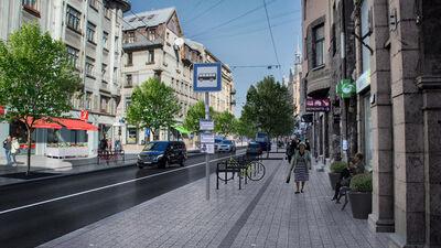 Ķirsis: Pēdējos gados Čaka iela pārvērtusies par šoseju. Šosejas malā neviens dzīvot negrib