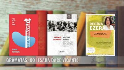Grāmatas, ko iesaka rakstniece Dace Vīgante