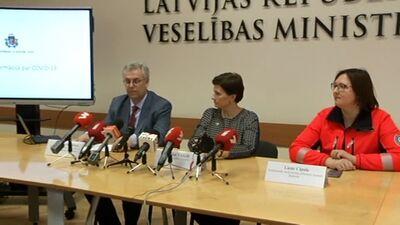 Aktuālā informācija par COVID-19 izplatību Latvijā un plānoto rīcību