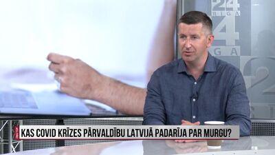 Dombrovskis: Murgainais krīzes menedžments nav nekāds noslēpums
