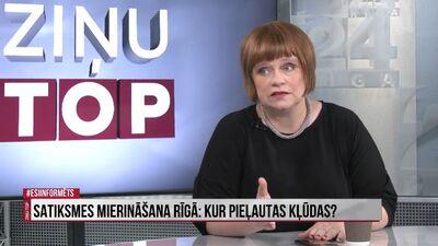 Inese Voika: Satiksmes departamentam Rīgā ir jāstrādā labāk