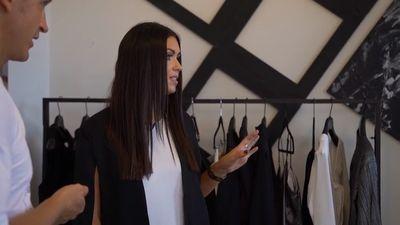 Ieva Katana atrāda savu modes zīmolu