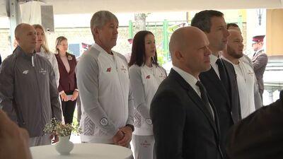 Speciālizlaidums: Tokijas olimpisko spēļu dalībnieku sveikšana Rīgas pilī