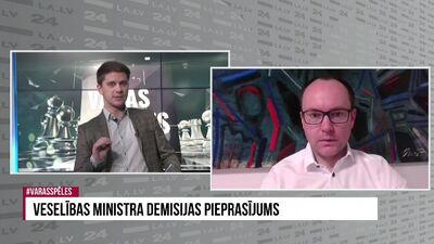 Andris Skride: Krīzes dziļākajā posmā meklēt vainīgos un mainīt ministru ir bezatbildība