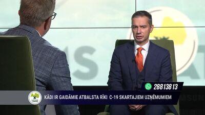 Latvijas uzņēmējdarbība Covid-19 krīzes laikā