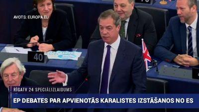 Speciālizlaidums: Debates par Lielbritānijas izstāšanos no ES 2. daļa