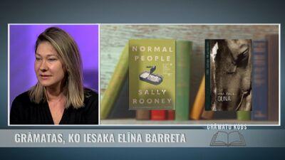 Grāmatas, ko iesaka rakstniece Elīna Barreta