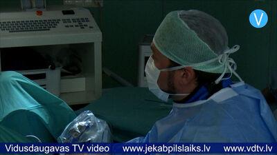 Ievieš mazinvazīvās uroloģiskās operācijas