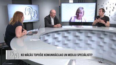 Vidzemes augstskolas rektors par mācību procesu topošajiem mediju speciālistiem