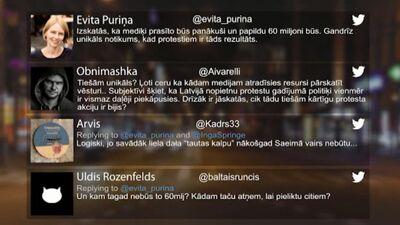 Tvitersāga: Mediķu protesti