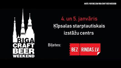 Riga Craft Beer Weekend Ķīpsalā