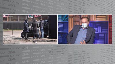 Kāpēc policija nenoķēra mašīnu ar futbola aģenta slepkavām?