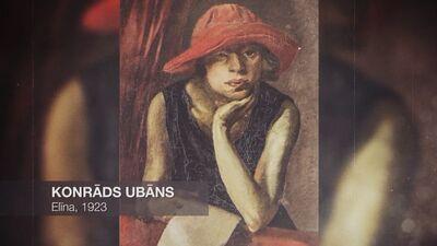 Rīgas mākslinieku grupa. Konrāds Ubāns