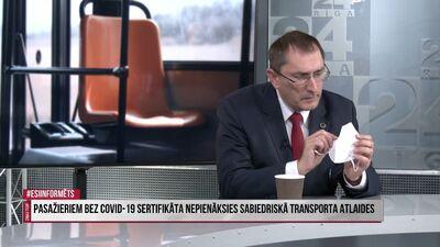 Vai sabiedriskajā transportā būs jālieto respiratori?