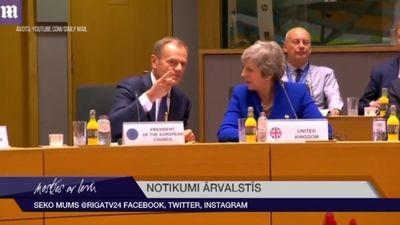 """Lielbritānija ved sarunas par """"Brexit"""" atlikšanu"""
