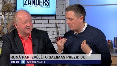 Domstarpības un skaidrošanās par ievēlēto Saeimas prezidiju