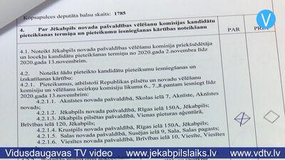 30.10.2020 Jēkabpils laiks