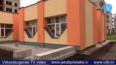 Pabeigta Līvānu Bērnu un jauniešu centra ēkas siltināšana