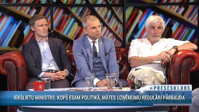 Borovkovs: Ieejot politikā, sevi apzīmē par publisku mērķi