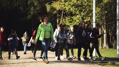 """""""Rīgas Meži"""" vides izglītības projekts """"Zaļā klase"""""""